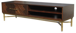 Sl-4100 TV Cabinet in Patterned Wood Finish - $1,239.00