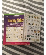 Fantasy Makers Nail Decals Halloween Trick Or T... - $0.99