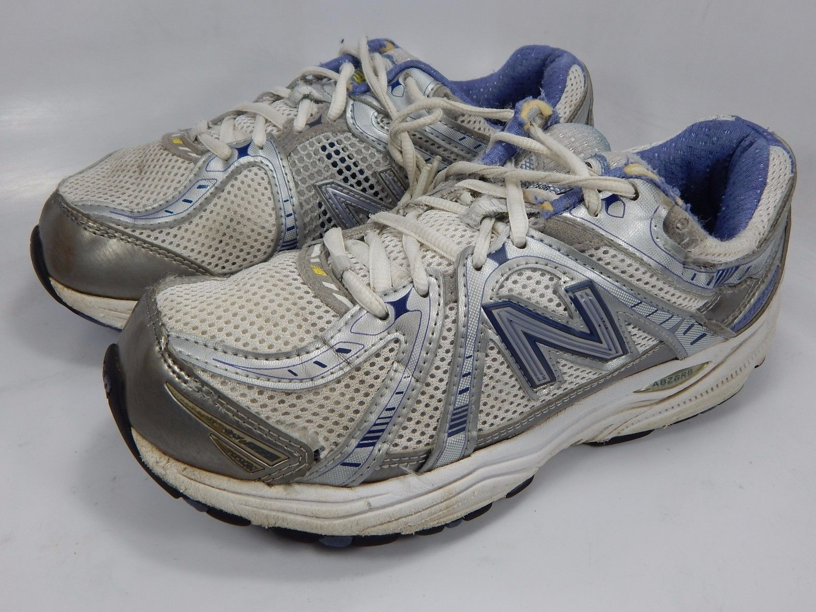 New Balance 840 Women's Running Shoes Size US 8 M (B) EU 39 White Blue WR840WB
