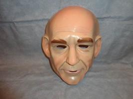 Jon Luc Picard Jean Luc  Halloween PVC Mask Child Size - $8.86