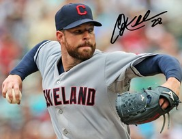* Corey Kluber Signed Photo 8X10 Rp Autographed Cleveland Indians ! - $19.99