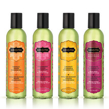 Kama Sutra Aromatic Naturals Massage Oil  8 OZ / 4 FLAVORS YOU CHOOSE - $13.19