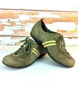 MERRELL Womens Size 8.5 Shoes Duet Sport Swiss Loden Sneakers Olive Leather - $12.86