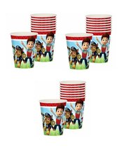 Paw Patrol 9 Oz Paper Cups 24 Pieces by Party Supplies - $15.79