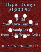 Build Your Own Bundle Hyper Tough AQ20019G 1/4 Sheet No-Slip Sandpaper 17 Grits - $0.99