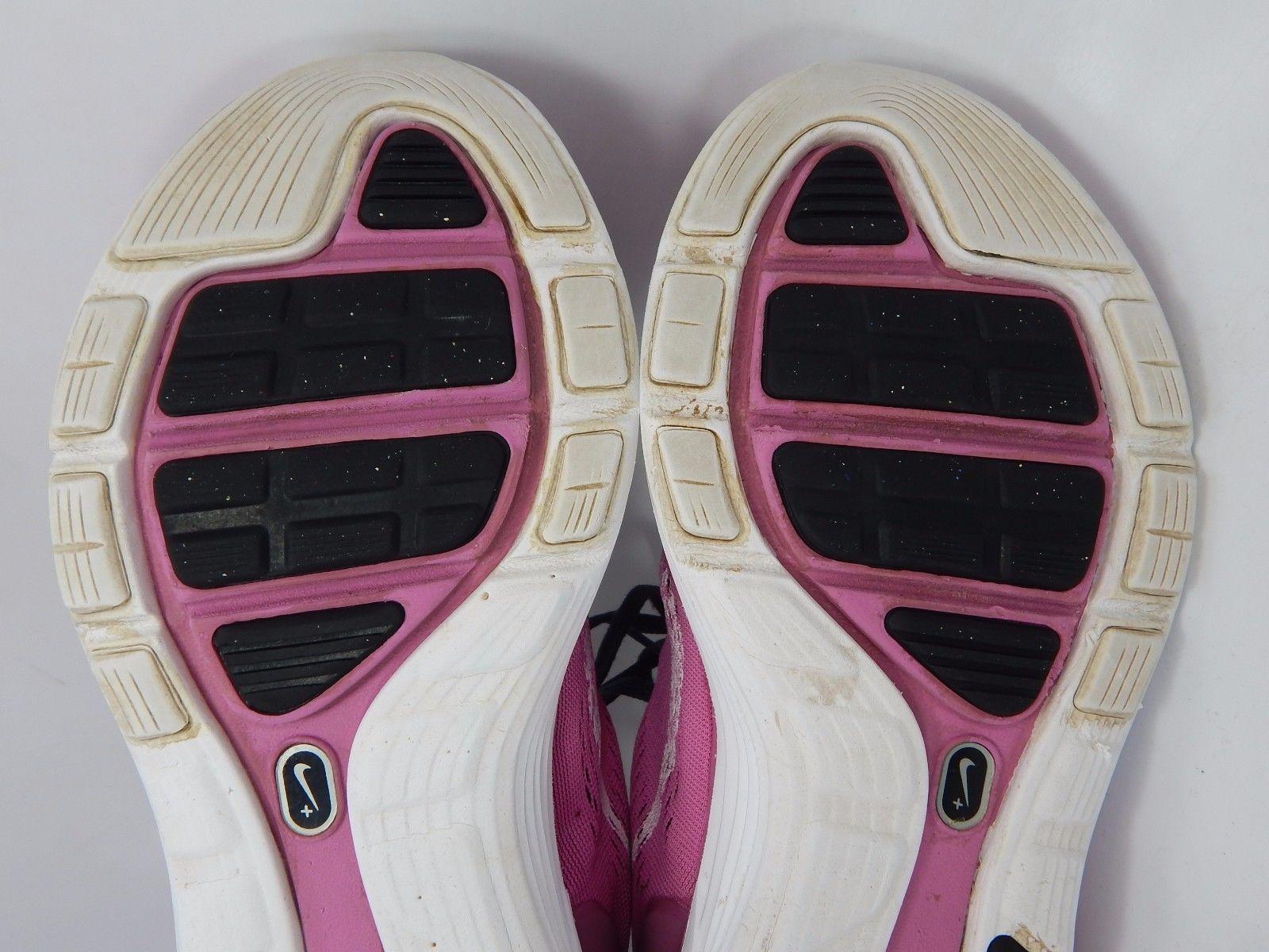 NIKE LUNARGLIDE +5 WOMEN'S RUNNING SHOES SIZE US 6 M (B) EU 36.5 PINK 599395-610