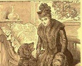A DOCTOR'S DOG Black Retriever Lithograph CIRCA 1909 Healing Power of a Kind Dog - $8.99