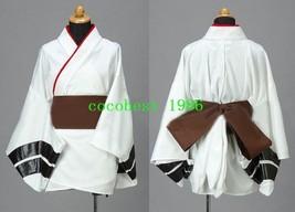 Rei Cosplay (Yukata) from Neon Genesis Evangelion any size belt Kimono - $58.14