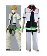 Kingdom Hearts Roxas Halloween Cosplay Costume any size  Jacket Trousers... - $52.24