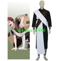 Naruto Gaara Chunin Exam Cosplay Costume Jumper Elbow Support  Others An... - $57.97