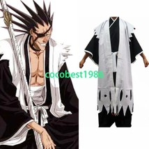 Bleach 11th Division Captain Zaraki Kenpachi Cosplay Costume - $58.45