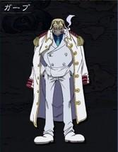Original One Piece Navy Uniform Cosplay Cloak Halloween costume white japanese - $31.17