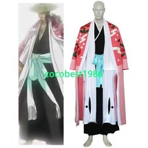 Bleach 8th Division Captain Kyouraku Shunsui Halloween Cosplay Costume any size - $71.78