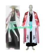 Bleach 8th Division Captain Kyouraku Shunsui Halloween Cosplay Costume a... - $71.78