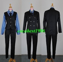 Sanji Cosplay from One Piece shirt coat pants tie Any size custom-made - $92.00