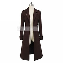 Attack on Titan Wings of Counterattack Online Levi Cosplay Coat Halloween costum - $29.67
