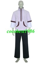 Shinbo Hiromu Mans Cosplay Costume from Chobits any size Coat Pants - $59.34