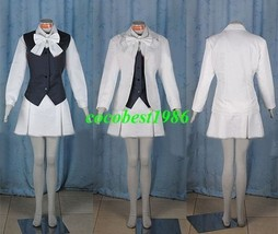 Ada Cosplay from Pandora Hearts any size coat shirt vest skirt bowknot - $62.00