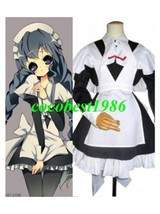 Chobits  Brand New Yuzuki Maid Cosplay Costume any size Body Skirt Bowkn... - $56.67