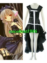 Chobits Chi Black Dress Cosplay Costume any size - $56.67