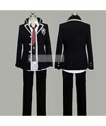 Ao No Exorcist Okumura Rin Cosplay Costume Halloween jcoat pant shirt ti... - $59.00