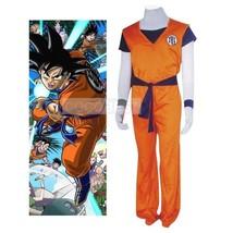 Dragon Ball Kame Hame Practising Clothing Halloween Cosplay Costume orange - $27.24