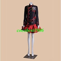 2 D.Gray-man Lenalee Lee Cosplay Costume (3rd Version) Coat Top Skirt Short - $62.31