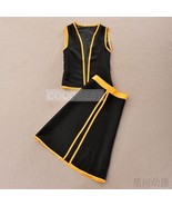 Cosplay Costume Inspired by Fairy Tail Natsu Dragneel vest pant Hallowee... - $24.30
