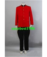 Due South Red Mountie Serge Uniform Tunic Costume any size Jacket Pants - $79.10
