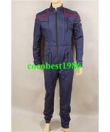 Star Trek Enterprise Costume Uniform Jumpsuit Red all size - $76.31