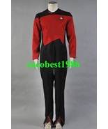 Star Trek Command Uniform Red Jumpsuit Costume all size Jumpsuit - $80.03
