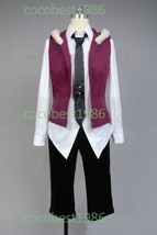 DIABOLIK LOVERS Sakamaki Raito Cosplay Costume Any size shirt hat coat p... - $86.98
