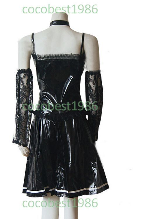 Death Note Amane Misa Cosplay Costume dress shirt scarf coat pants