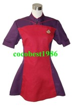 Star Trek TNG The Next Generation Red Skant Uniform Costume any size - $58.58