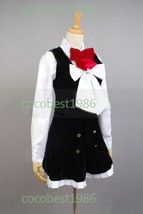 DIABOLIK LOVERS Yui Komori Cosplay Costume Overskirt Shirt Accessory Ove... - $72.93