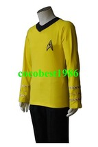 Star Trek TOS The Original Series Kirk Yellow Shirt Uniform Costume  any... - $61.39