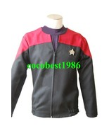 Star Trek Voyager Command Uniform Costume Red any size coat underwear - $59.52