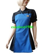 Star Trek TNG The Next Generation Teal Skant Uniform Costume  any size - $57.61