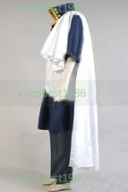 Fairy Tail Zeref Cosplay Costume shirt scarf coat pants Any size - $92.86