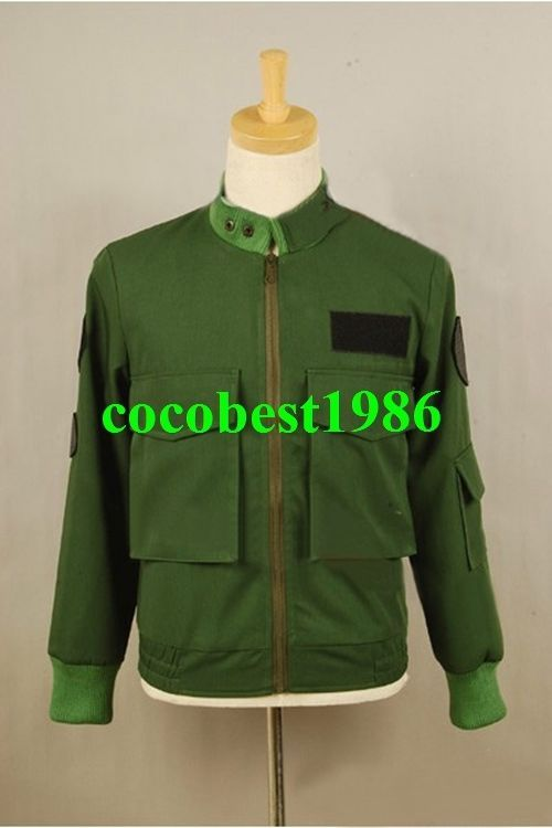 Stargate SG1 Jack O'Neill Costume Uniform Green Jacket any size coat