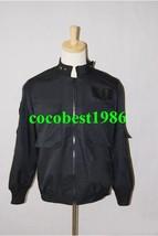 Stargate SG1 Black Uniform Jacket Costume any size coat - $47.39