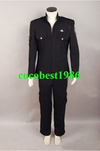 Stargate Universe SGU Black Uniform Costume Jacket Pants any size - $76.31