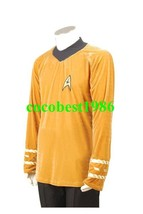 Star Trek TOS The Original Series Kirk Shirt Uniform Costume any size Shirt - $64.46