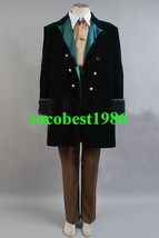 Who is Doctor 8rd Dr Outfits Cosplay Costume any size coat pants shirt tie - $121.25