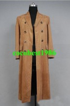 Who is Doctor Dr. Brown Long Trench Coat Suit Costume Custom Made  any size - $85.02