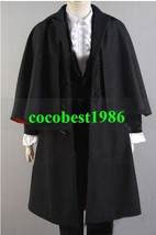 Who is Doctor 3rd Dr Outfits Costume any size Cloak jacket shirt pants - $139.72