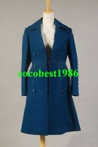 Who is Doctor Amy Teal Wool Coat Costume any size coat - $70.71