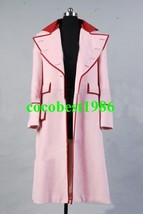 Who is Doctor Dr. Long Pink Cashmere Trench Coat Costume any size - $79.15