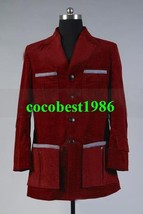 Who is Doctor Dr. Dark Red Corduroy Trench Coat Costume any size - $70.71