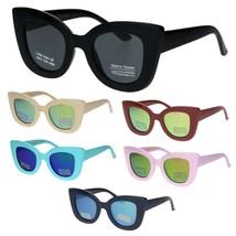 Kids Size Girls Thick Plastic Cat Eye Retro Fashion Sunglasses - $9.95